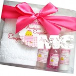 Kit de baño grande para baby shower